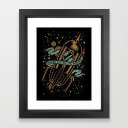 sirens of titan - vonnegut Framed Art Print