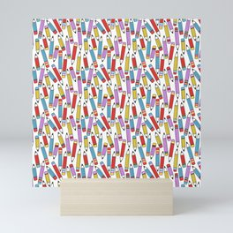 Pattern Project / All the Pencils Mini Art Print