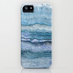 Mystic Stone Aqua Blue iPhone (5, 5s) Slim Case