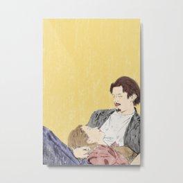 Before Sunrise - Watercolor Metal Print
