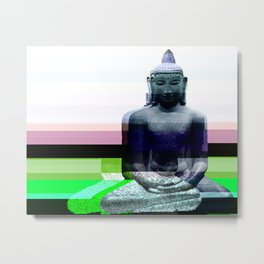 Buddha Variations 1 Metal Print