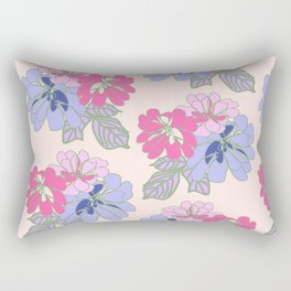 Pastel Peonies Rectangular Pillow