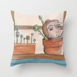 I think I see you Throw Pillow