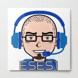 Ese51 Gaming Metal Print