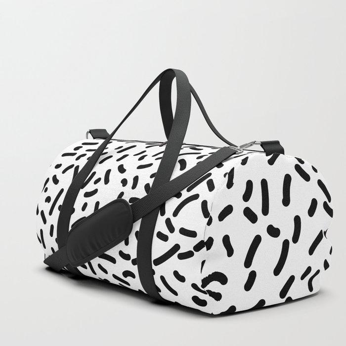 Memphis Candy B&W Duffle Bag