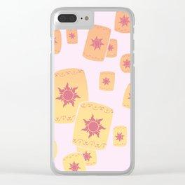 Lost Princess Lanterns Clear iPhone Case