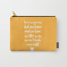 dr seuss: you're on your way Carry-All Pouch