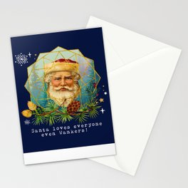Santa loves everyone-even Wankers! Stationery Cards