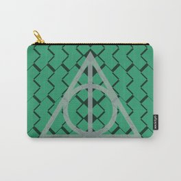 The Deathly Hallows- Slytherin Carry-All Pouch