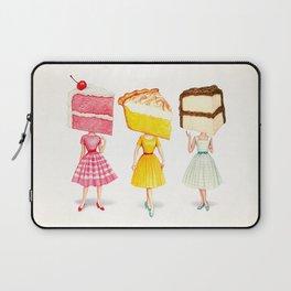 Cake Head Pin-Ups Laptop Sleeve