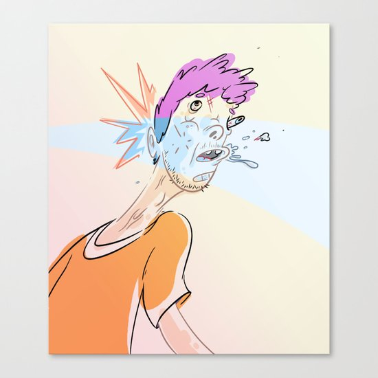 Reality Punch Canvas Print