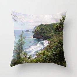 Pololu valley Throw Pillow