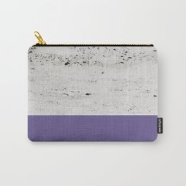 Ultra Violet on Concrete #3 #decor #art #society6 Carry-All Pouch