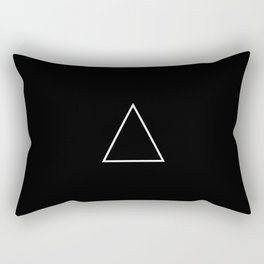 A R T I F △ C T ▽ BLK Rectangular Pillow