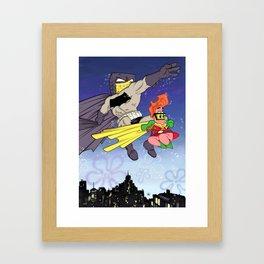 DarkBob KnightPants Framed Art Print