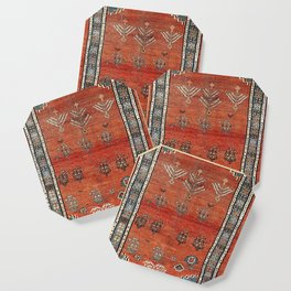 Bakhshaish Azerbaijan Northwest Persian Carpet Print Coaster