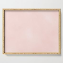 Pink Coral Serving Tray