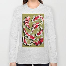 Koi Carp Zen Long Sleeve T-shirt