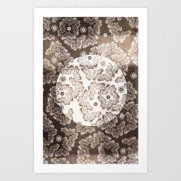 XV-IV-XIV Floral  Art Print