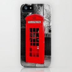Red Telephone Box Slim Case iPhone (5, 5s)