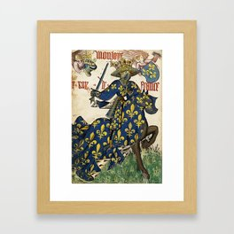 Golden Fleece King of France Framed Art Print