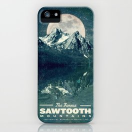 Sawtooths: Stanley Lake iPhone Case