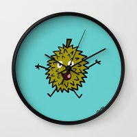 Durian Wall Clock