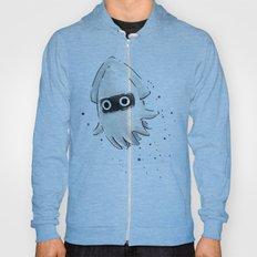 Blooper Squid Mario Watercolor Geek Art Hoody