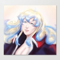 gurren lagann Canvas Prints featuring Nia Teppelin - Gurren Lagann  by Chooone