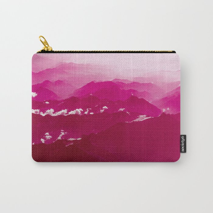 Abstract mountains Carry-All Pouch