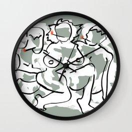 """""""Rupert Holmes' HIM"""" Wall Clock"""
