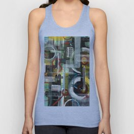 Abstract 1017 Unisex Tank Top