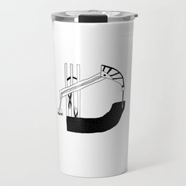 A-Z Catalogue of the Current Times (D) Travel Mug