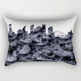 Sydney Skyline Australia Rectangular Pillow