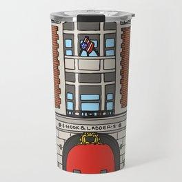 Ghostbusters Fire Station Travel Mug