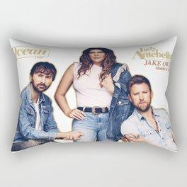 LADY ANTEBELLUM, JAKE OWEN, MADDIE & TAE - OCEAN TOUR 2020 Rectangular Pillow