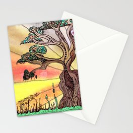 Drink the Wild Air by Rosemary Knowles, aka MaxillaMellifer Stationery Cards
