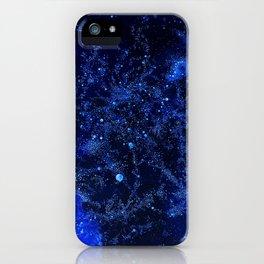 Celestial Blues iPhone Case