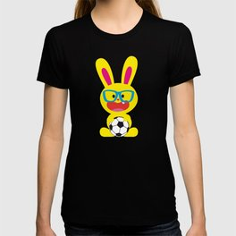 One Tooth Rabbit And Soccer T-shirt