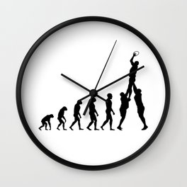 Evolution Rugby #2 - Line-out Wall Clock