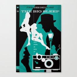 Hardboiled :: The Big Sleep :: Raymond Chandler Canvas Print