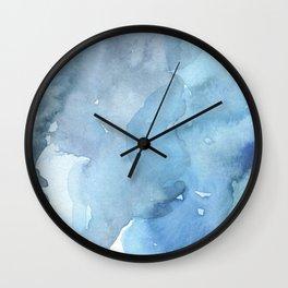 blue#2 Wall Clock