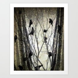 Outside My Window Art Print