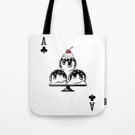 Delicious Deck: The Ace of Clubs Tote Bag