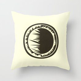 Spatial Throw Pillow