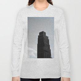 David Stott Building Detroit Long Sleeve T-shirt