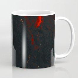 Vulcanic Fire Marble Coffee Mug