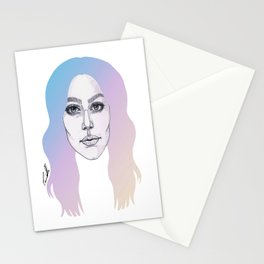 Colours In My Hair Stationery Cards
