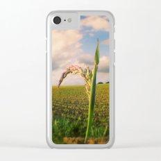 Oculus Grass Clear iPhone Case