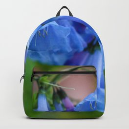 Pop of Blue Backpack
